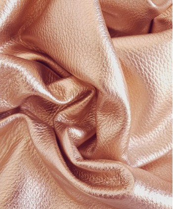 Rose Gold Metallic Embossed