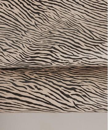 Zebra Beige Printed Goat