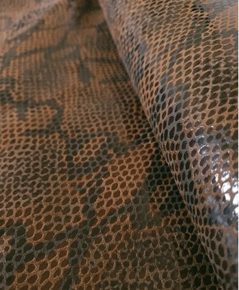 Brown and Black Python Printed