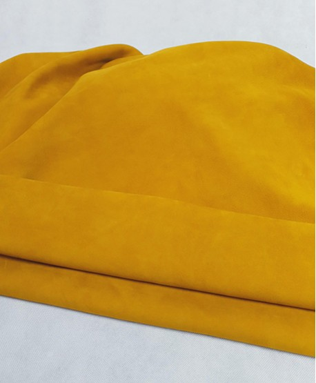 Roasted Yellow Very Soft Nobuck Leather