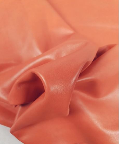 Salmon Premium Soft Semi Shine Aniline