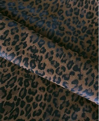 Caramel Leopard Printed...