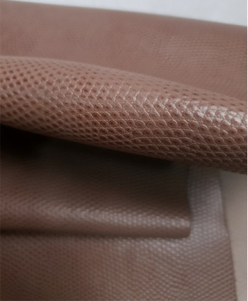 Deep Taupe Bicolor Embossed