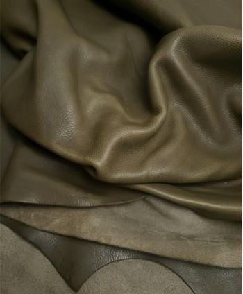 Khaki Bicolor Oil Trento...