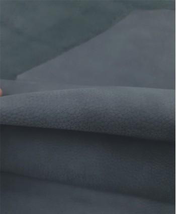 Grey Embossed Thick Nobuck