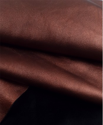 Dark Copper Lyra Embossed...