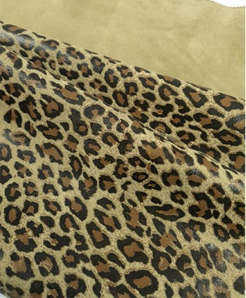 Sage Green Leopard Printed...