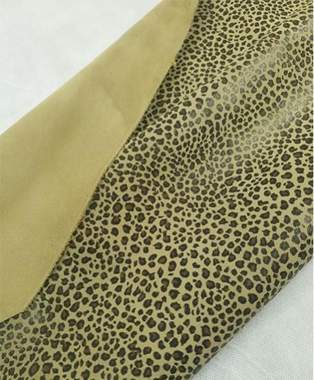 Sage Green Baby Leopard Printed