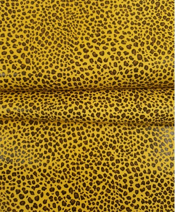Yellow Baby Leopard Printed
