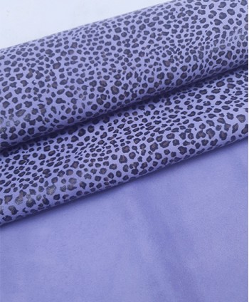 Lavender Baby Leopard Printed