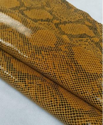 Yellow Oak Suede Python...