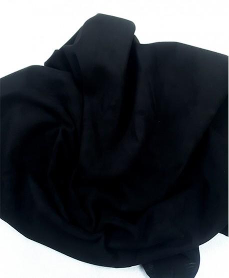 Black Very Soft Goat Nobuck