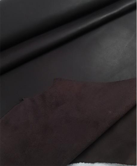 Dark Brown Vento Bicolor Waxed Full Grain Oiled Finished Waterproof