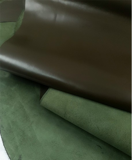 Green Moss Eternity Silky Luxurious Semi Shine Aniline
