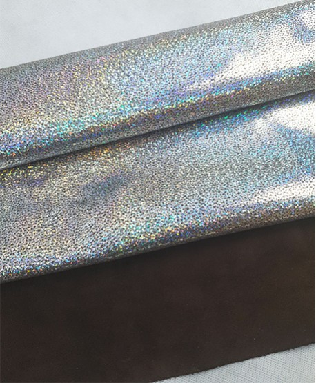 Lumi Argento Panama Metallic Brown Suede