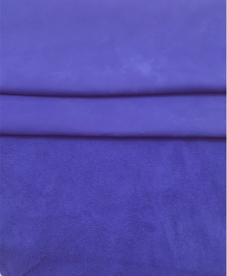 Violet Nobuck Very Soft Thin Leather