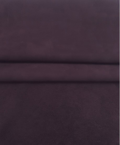 Dark Purple Nobuck Very Soft Thin Leather