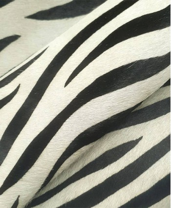 Zebra Hair on Hide