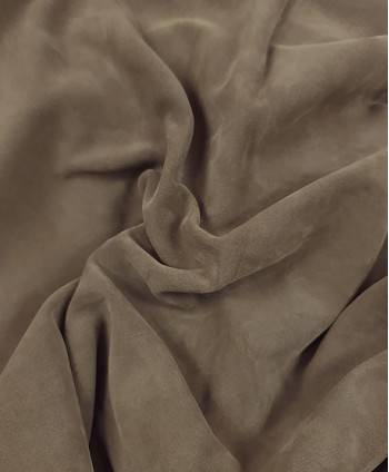 Taupe Soft Suede